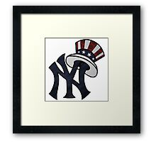 NEW YANKEES LOGO Framed Print