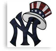 NEW YANKEES LOGO Canvas Print
