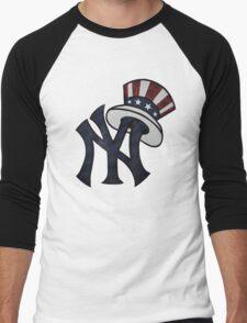 NEW YANKEES LOGO Men's Baseball ¾ T-Shirt