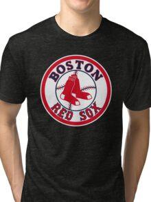 BOSTON RED SOX BASIC LOGO Tri-blend T-Shirt