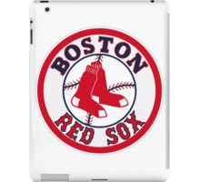 BOSTON RED SOX BASIC LOGO iPad Case/Skin
