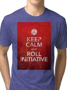 D&D Keep Calm Tri-blend T-Shirt