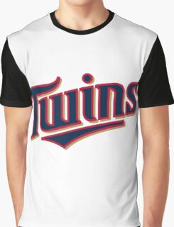 MINNESOTA TWINS LOGO Graphic T-Shirt