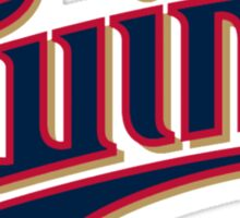 MINNESOTA TWINS LOGO Sticker