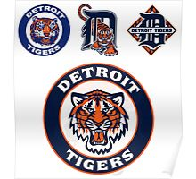 DETROIT TIGERS LOGO Poster