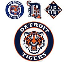 DETROIT TIGERS LOGO Photographic Print