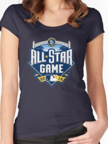 MLB ALL STAR GAME 2016 Women's Fitted Scoop T-Shirt