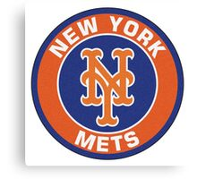 NEW YORK METS LOGO Canvas Print