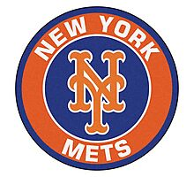 NEW YORK METS LOGO Photographic Print