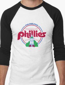 PHILIES LOGO Men's Baseball ¾ T-Shirt