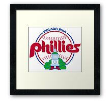 PHILIES LOGO Framed Print