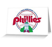 PHILIES LOGO Greeting Card