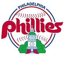 PHILIES LOGO Photographic Print