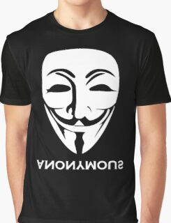 ANONYMOUS [white] Graphic T-Shirt