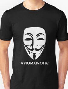 ANONYMOUS [white] Unisex T-Shirt