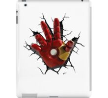 Iron man's hand iPad Case/Skin