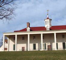 Mount Vernon, George Washington's Plantation, VA Sticker
