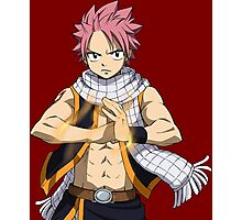 Fairy Tail - Natsu Dragneel Photographic Print