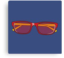Pop Art Glasses Canvas Print