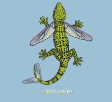 Geek can fly. Kids Tee