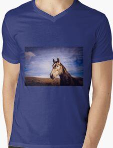 An Irish Horse Mens V-Neck T-Shirt