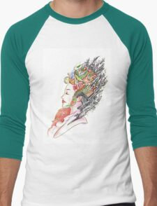 Art of Letting Go Men's Baseball ¾ T-Shirt