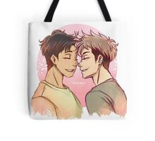 A date in Spring. Tote Bag