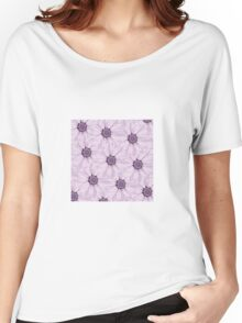 Floral background Women's Relaxed Fit T-Shirt