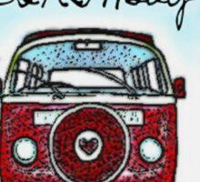 Birthday Love bus Sticker