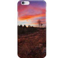Beautiful vibrant sunset clouds landscape iPhone Case/Skin