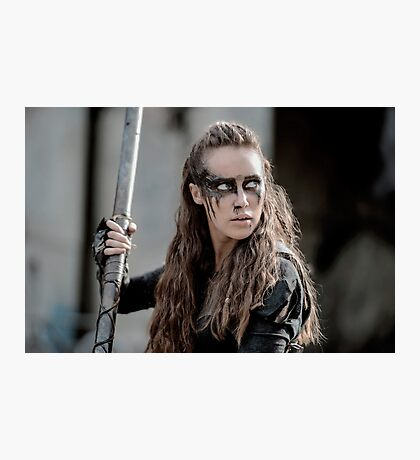 The 100 - Lexa (3x04) Photographic Print
