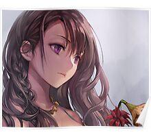 Sad AnimeGirl Poster