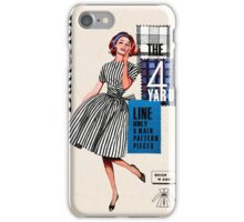 Black and White Stripes iPhone Case/Skin