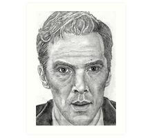 Cumberbatch Art Print