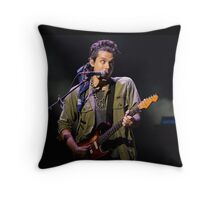 John Mayer | Born & Raised Tour 2013 | Chicago Throw Pillow
