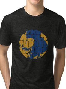 The World Turned Upside Down Tri-blend T-Shirt