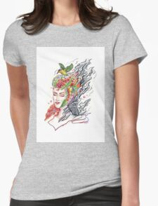 Art of Letting Go (2) Womens Fitted T-Shirt