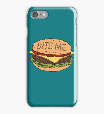 Bite me. iPhone Case/Skin