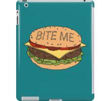 Bite me. iPad Case/Skin
