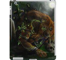Werewolf evocation iPad Case/Skin