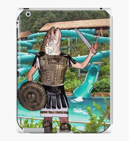 Roman Salmon iPad Case/Skin