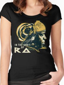 Sun Ra T-Shirt Women's Fitted Scoop T-Shirt
