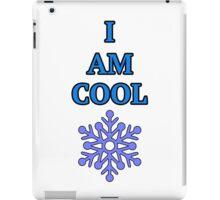 I Am Cool Snowflake iPad Case/Skin