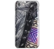 fabrics of colour iPhone Case/Skin