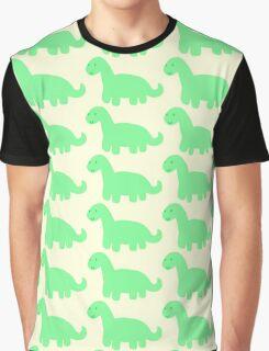 little green brontosaurus! :) Graphic T-Shirt