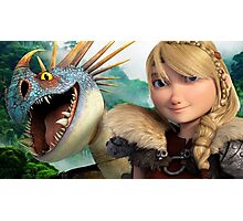 Astrid - How to Train Your Dragon 1 Photographic Print