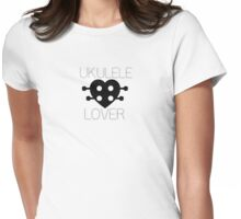 UKULELE LOVER Womens Fitted T-Shirt