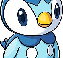 Piplup Pokemon by azzambos