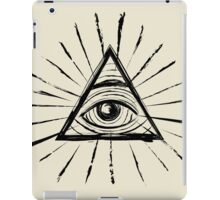 All Seeing Eye - Black Edition iPad Case/Skin