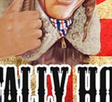 Best of British - Tally Ho! Sticker